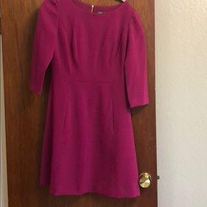Vince Camuto 3/4 sleeve a-line dress